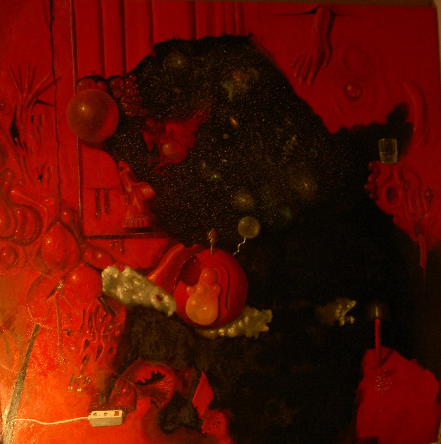 rouge, la toile maudite