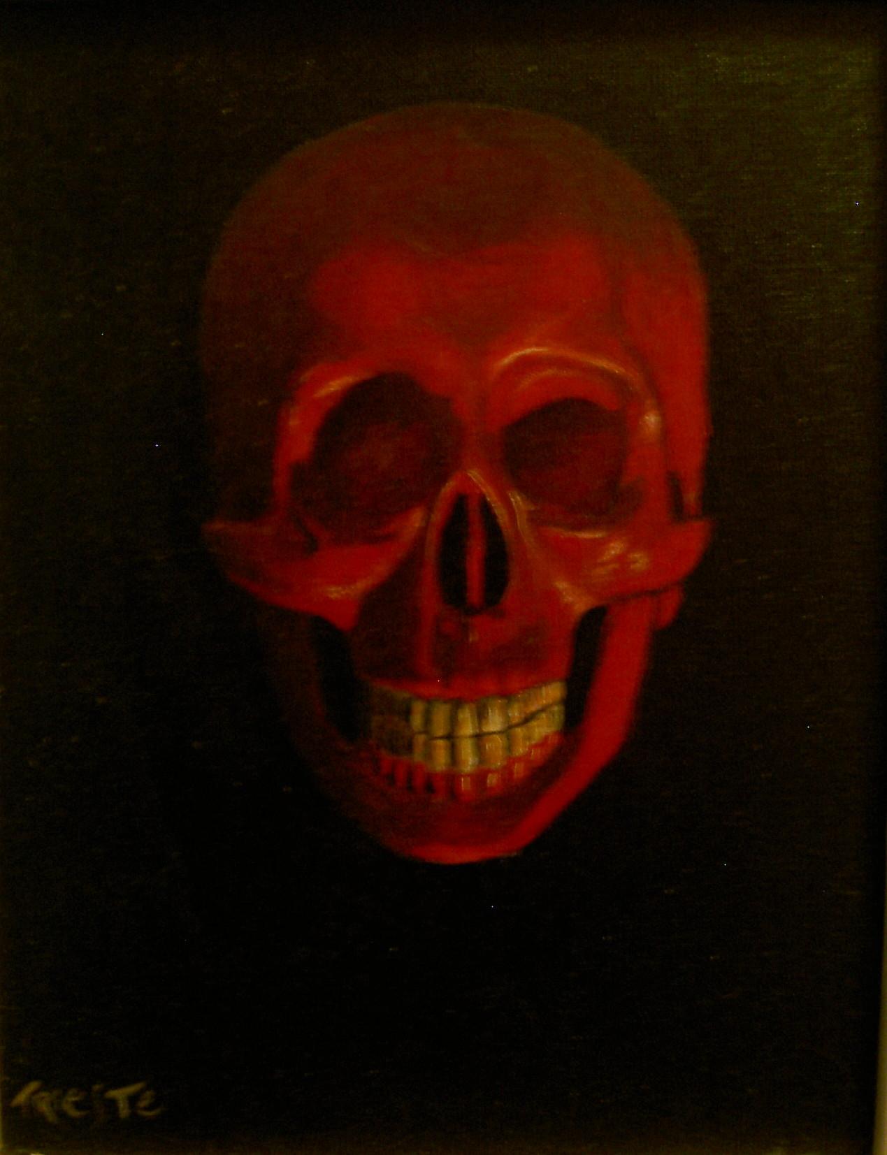la mort en rouge